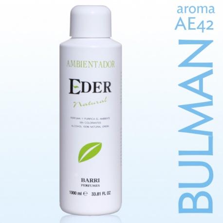 Désodorisant écologique d'air EDER 1 litre - Arôme AE42 BULMAN