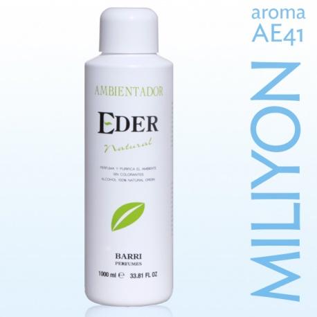 Air Freshener EDER Natural 1 liter - Aroma: AE41 MILYON Remind One Million