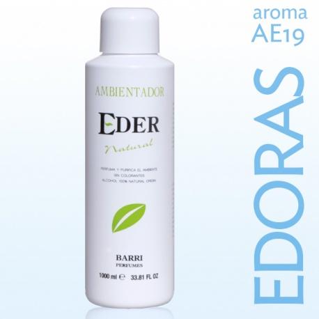 Ambientador EDER Natural 1 litro - Aroma: AE19 EDORAS Recuerda a Polo Sport
