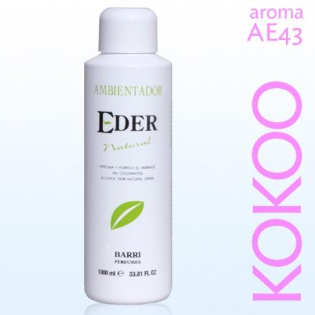 Air Freshener EDER Natural 1 liter - Aroma: AE43-KOKOO Remind Coco Mademoiselle