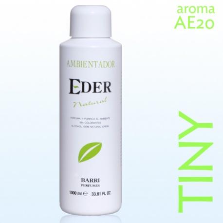 Ambientador EDER Natural 1 litro - Aroma: AE20-TINY Recuerda a Tartine
