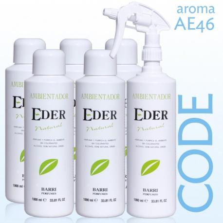 Ambientador EDER Natural Pack AE46 CODE Recuerda a Code