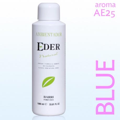 Ambientador EDER Natural AE25 BLUE Recuerda a Ligth Blue