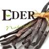 Ambientador EDER Pulv. AE29 VAINILLA NEGRA