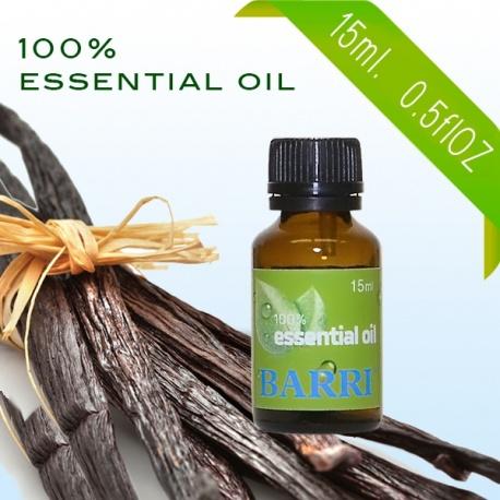 Natural Essential Oil 15 ml. BLACK VAINILLA