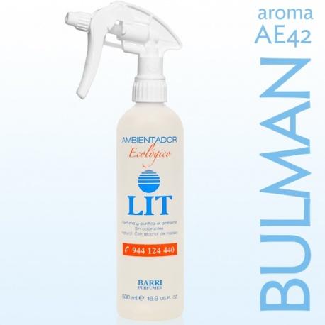 Ambientador Ecológico LIT 500 ml. BULMAN