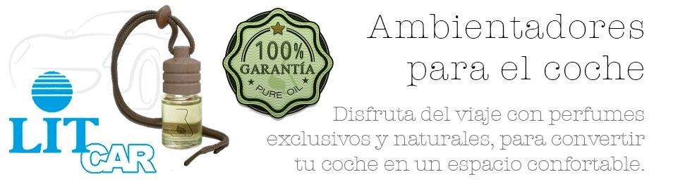 AMBIENTADORES DE COCHE 100% ESENCIA PURA