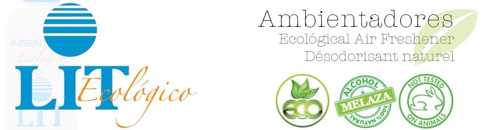 Ambientador LIT Ecológico con tapón