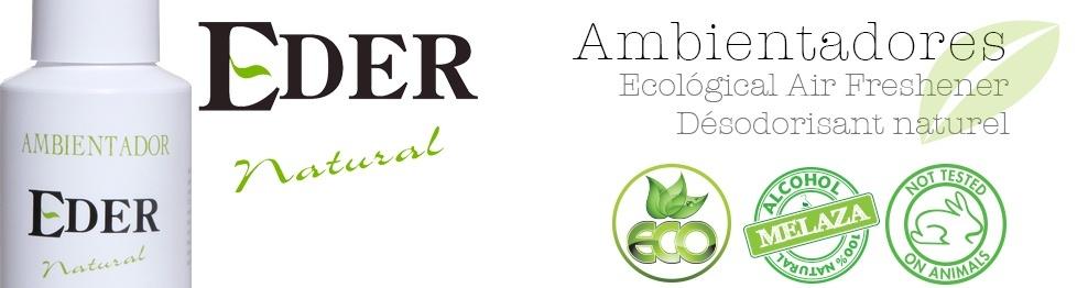 Ambientador Eder Natural com tampa