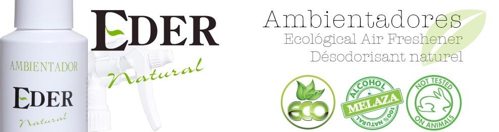 Ambientador Eder Natural pack Poupança 6 litros