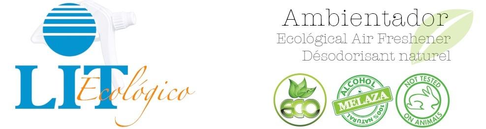 Ambientador LIT Ecológico Pack Surtido de Aromas 10 Unidades