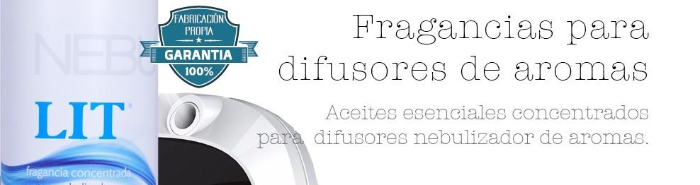FRAGANCIAS CONCENTRADAS PARA DIFUSORES DE AROMAS