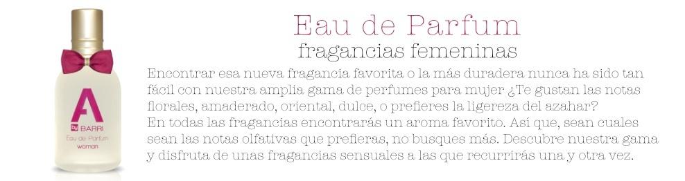 EAU DE PARFUM A BY BARRI