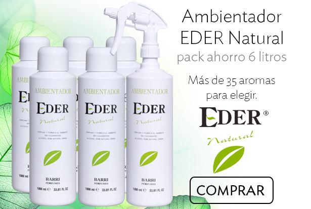 Ambientador EDER Natural Pack Ahorro 6 litros