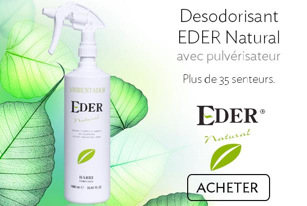 Desodorisant Écologique EDER avec pulvérisateur professionnel