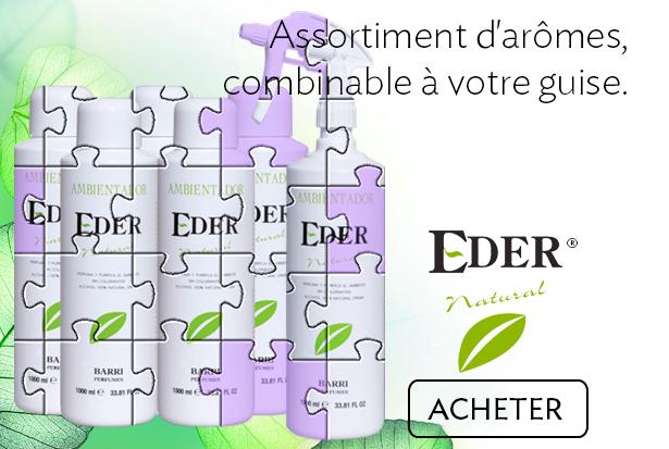 Pack 6 litres Desodorisant D'Interieur EDER Assortment