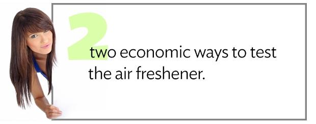 Air Freshener Samples