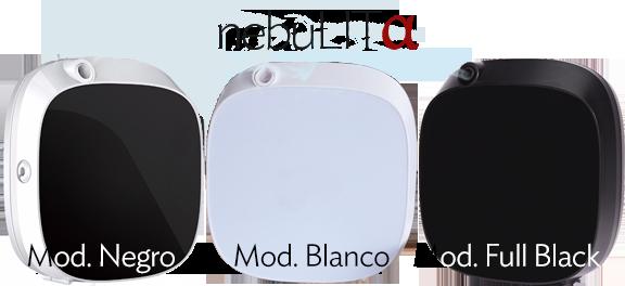 Modelos de Máquina Difirora de Aromas Nebulita