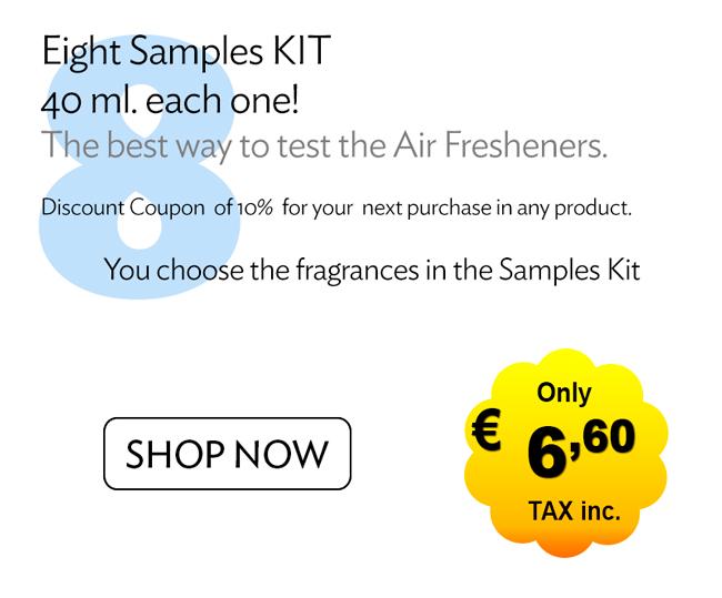 8 Air Freshener Samples