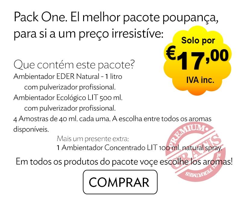 Ambientador Oferta - Pack One