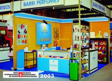 Feria Internacional de Bilbao 2003 Barri Perfumes