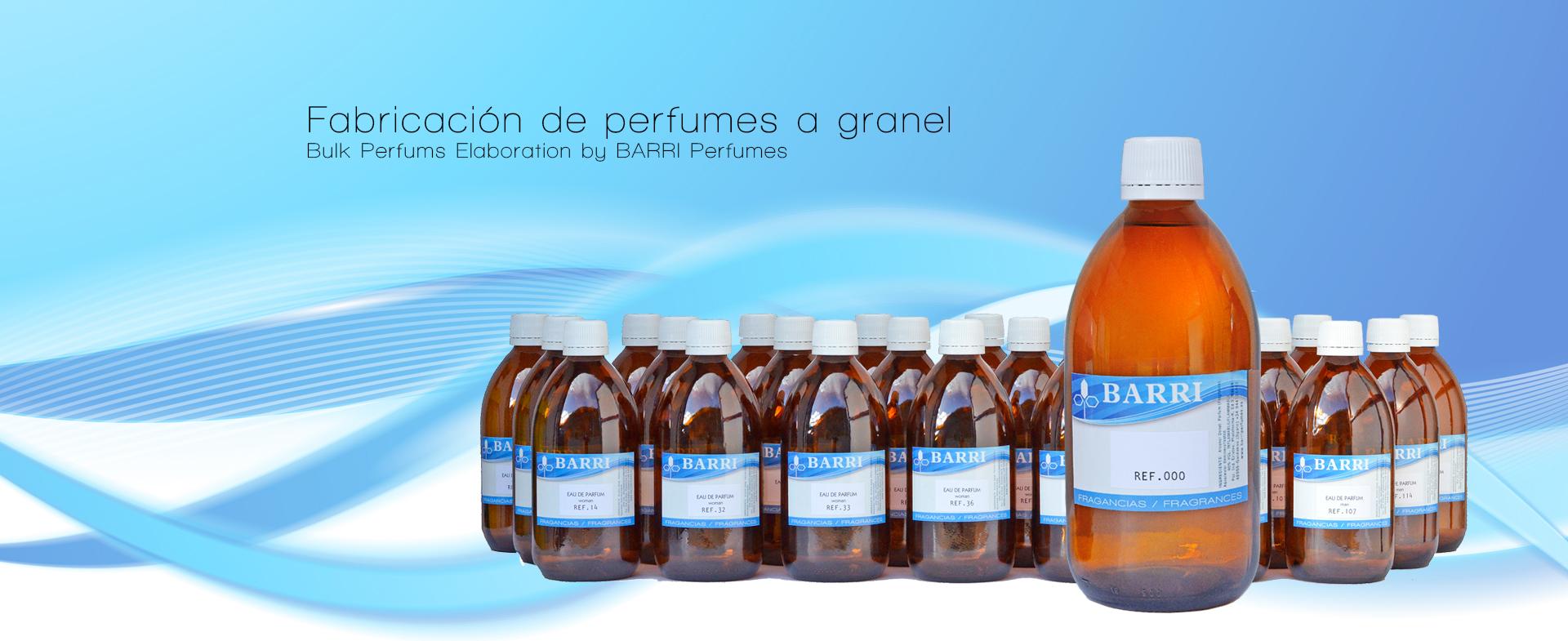 Fabricacion perfumes a granel