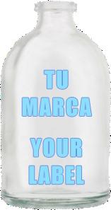 envase de 100 ml. marca blanca